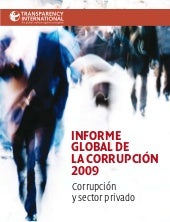 Informe Global Corrupcion 2009 9