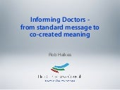 Informing Doctors Digitally - From ...