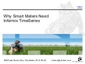 Why Smart Meters Need Informix Time...