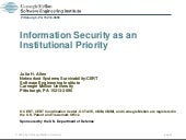 Infromation Security as an Institut...