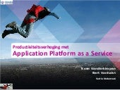 Infosessie Smals Research - Application platform as a Service - 12/2013