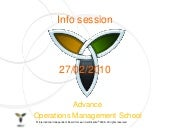 Info Session Advance 100227 2