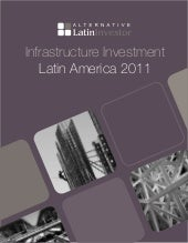 Infrastructure investment latin ame...