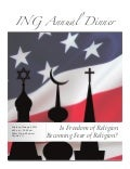 ING Annual Dinner Program: Is Freedom of Religion Becoming Fear of Religion?