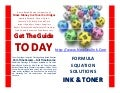 Inkjet factory outlets how win the business lottery work at home inkjet laser toner business opportunity the secret saving book by gregory bodenhamer nditc 2010