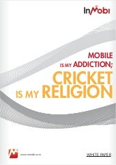 Mobile Is My Addiction; Cricket Is ...