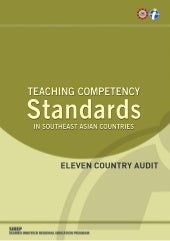 TEACHING COMPETENCY Standards IN SO...