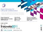 Innovate2011 DevOps TSRM RTC