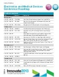 Medical device and Electronics Roadmap - Innovate 2013