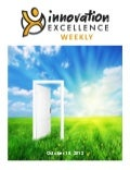 Innovation Excellence Weekly - Issue 3