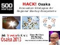 Hack Osaka: Innovation Strategies for Regional Startup Ecosystems
