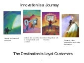 Innovation is a Journey