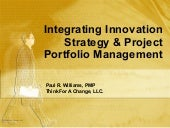 Innovation & Project Management - P...