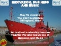 Innovation, Business and Music - All aboard the LV21 Lightship