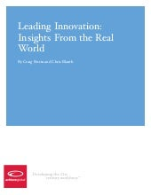 Leading Innovation: Insights From t...
