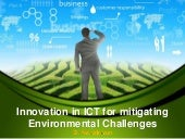 Innovations in ict for mitigating e...