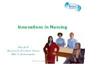 Innovations in nursing