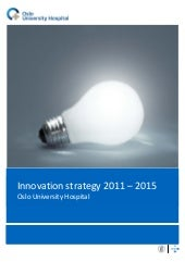 Innovation strategy 2011 2015