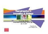 Reengineering in Innovation & S...