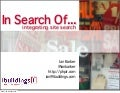 In Search Of: Integrating Site Search (PHP Barcelona)