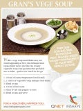Yummy & Healthy Gran's Vege Soup Recipe - In Shape - Weight Management
