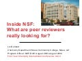 Inside NSF -- Proposal Review in the Division of Undergraduate Education 2004