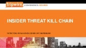 Insider Threat Kill Chain: Detecting Human Indicators of Compromise