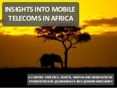 Insights into mobile telecoms in af...
