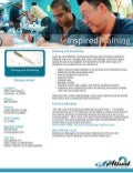 Inspired Training, Planning Scheduling Brochure