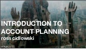 Introduction to Account Planning