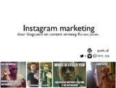 Instagram marketing presentatie_academy_oost
