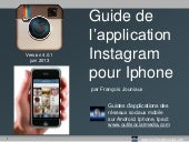 Guide INSTAGRAM pour mobile iphone