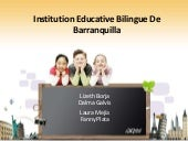 Institution educative bilingue de b...
