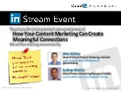 How your content marketing can crea...