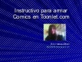 Instructivo comic en toonlet
