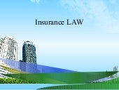 Insurance law ppt @ bec doms