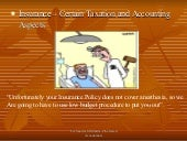 Insurance - Accounting and Tax Aspects