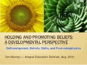 Holding and Promoting Beliefs: A De...