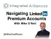 Integrated Alliances Presents LinkedIn Premium Accounts