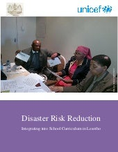 Integrating disaster risk reduction...