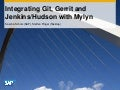 Integrating Git, Gerrit and Jenkins/Hudson with Mylyn