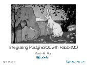 Integrating PostgreSql with RabbitMQ