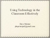Integrating technology w_classroom