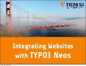 [T3CON13NA] Integrating Websites Wi...