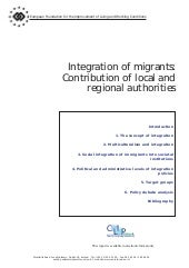 Integration of migrants contributio...