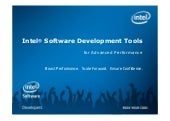Intel Ultrabook Software Developmen...