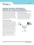 Lync SIP Trunking data sheet