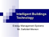 Intelligent building system
