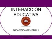 Interaccion educativa