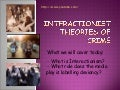 Interactionist Theories of Crime